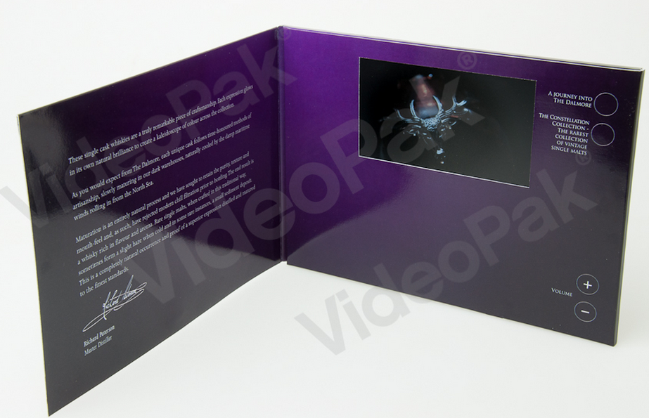 As if VideoPak's aren't cool enough on their own... VideoPak Video Brochure