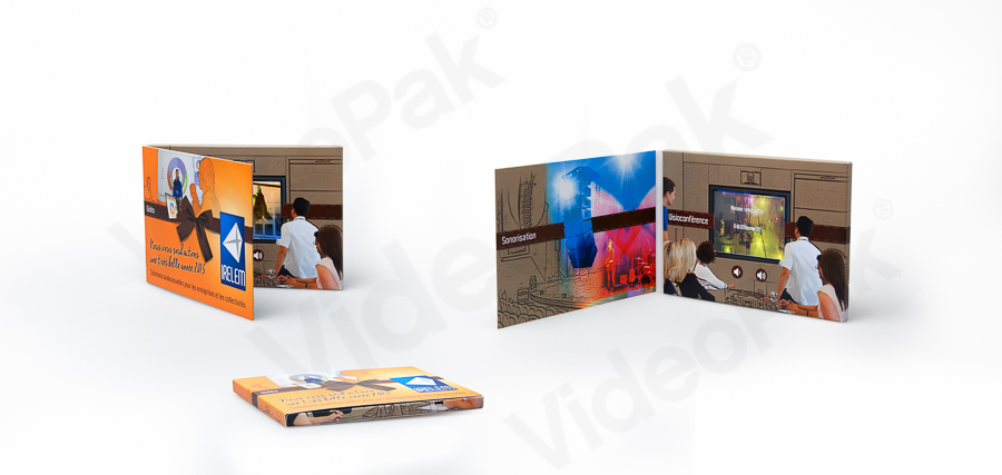 "2.8"" Video Brochure Card"