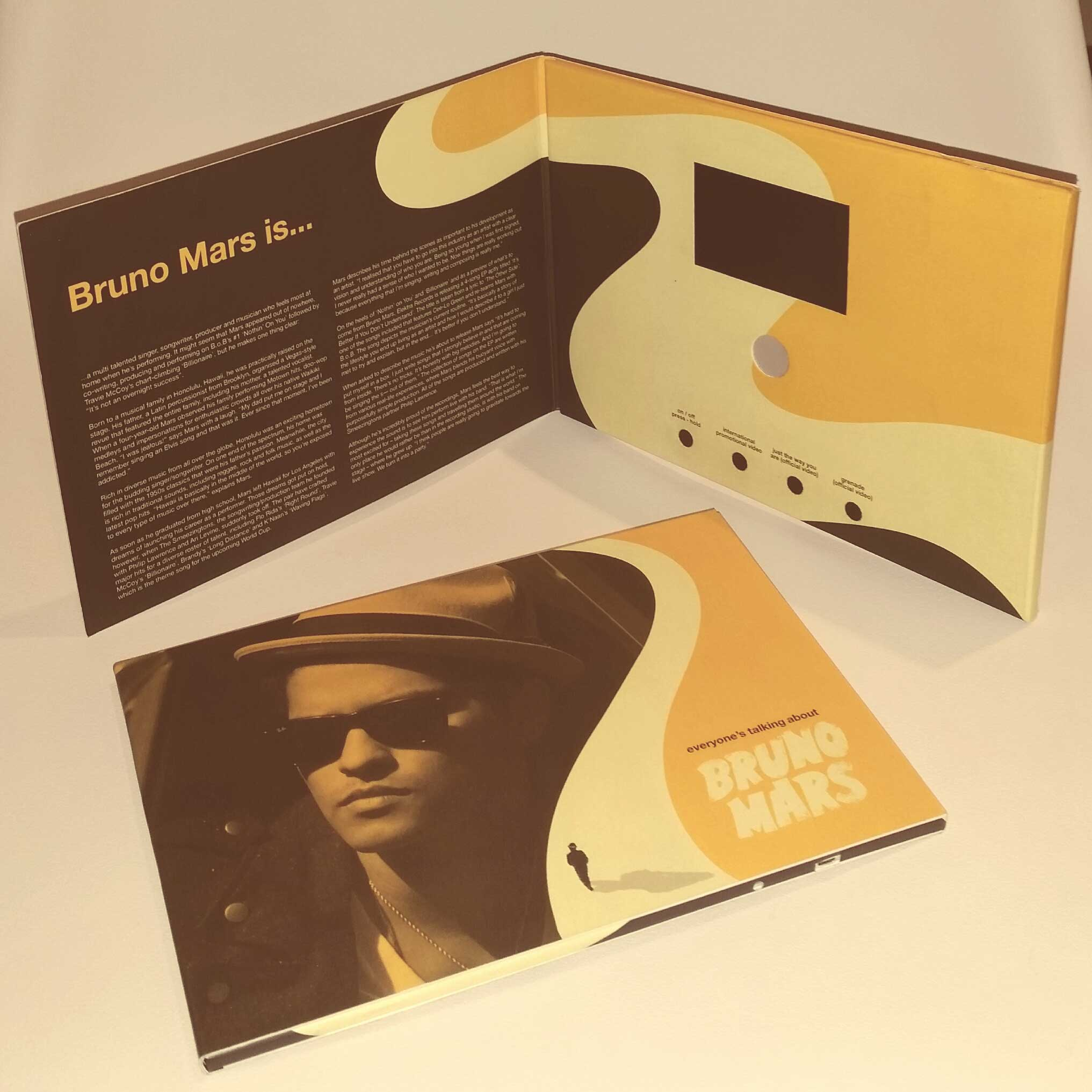 Bruno Mars VideoPak