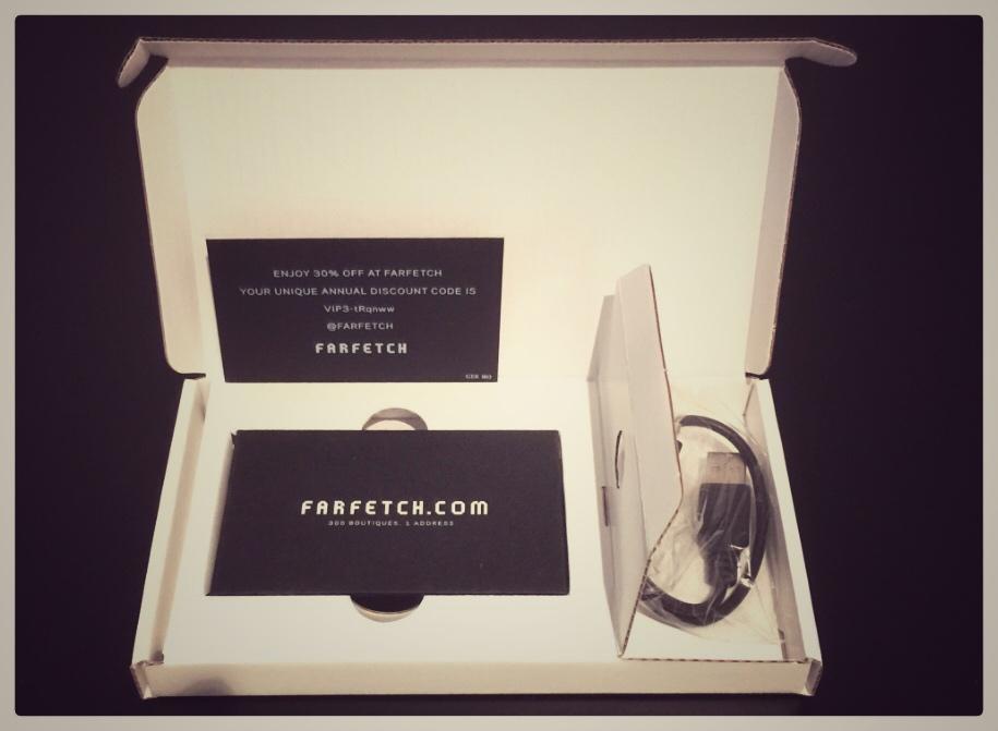 Farfetch Business card VideoPak with TV screen built in VideoPak Video Brochure