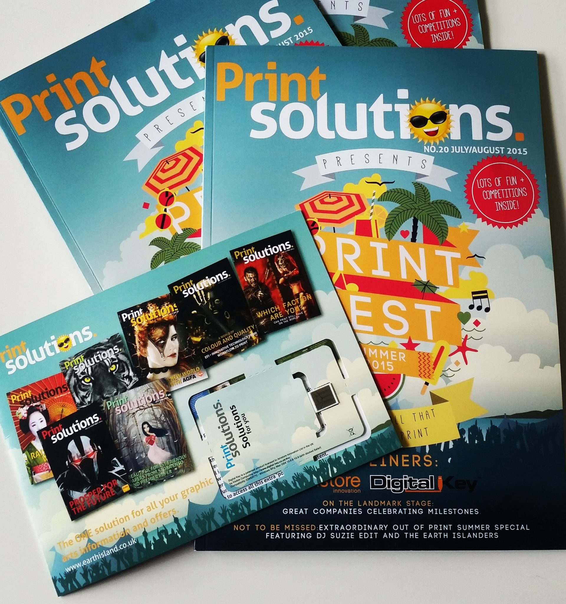 Print Solutions Digital Key web key promotion