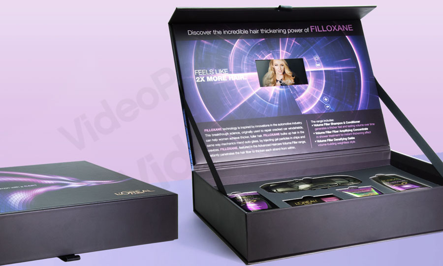 Videopak Presentation Box VideoPak Video Brochure