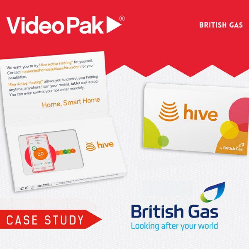 BRITISH GAS VideoPak Video Brochure