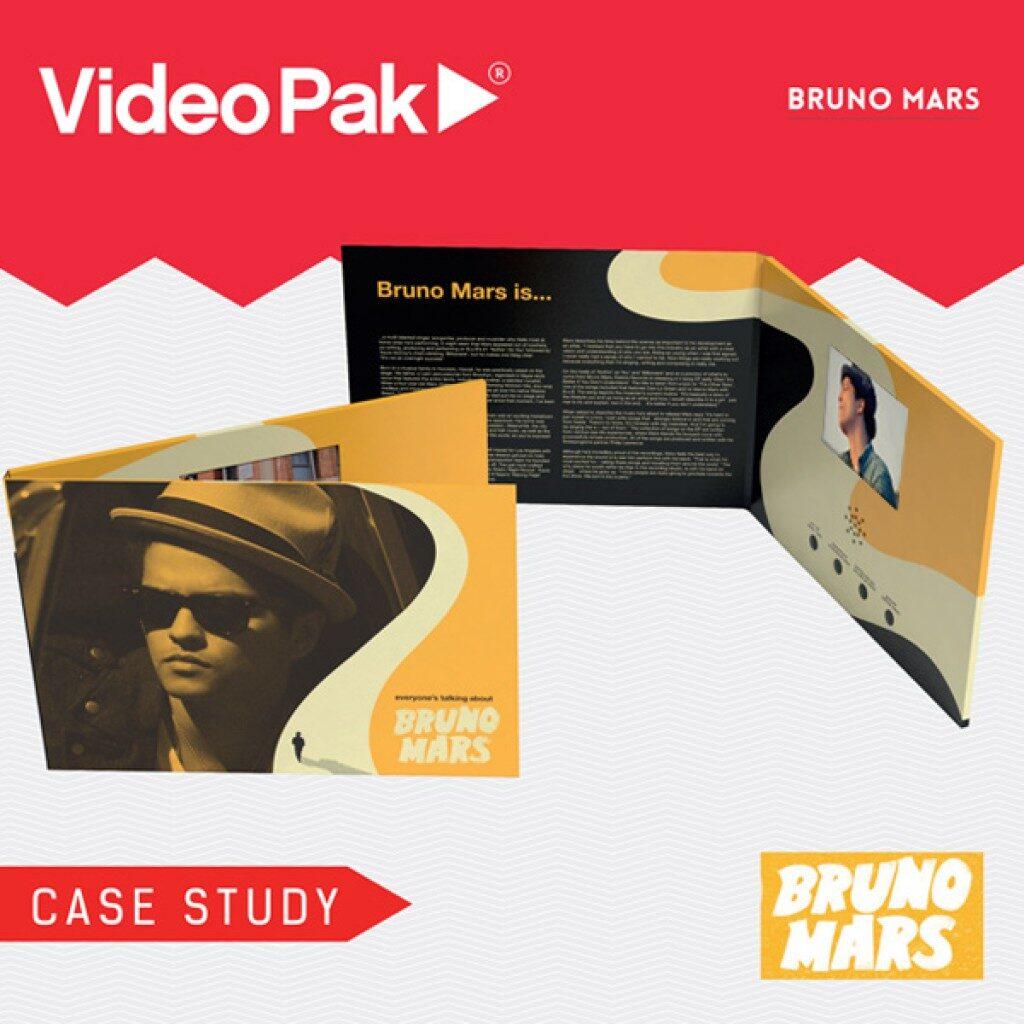 Bruno Mars VideoPak Video Brochure