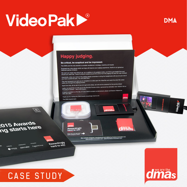 DMA Awards VideoPak Video Brochure