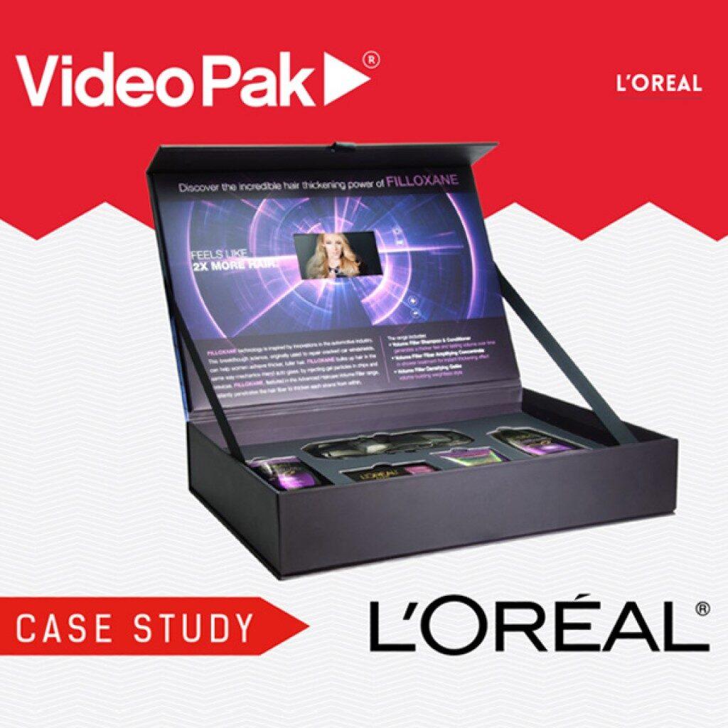 L'OREAL VideoPak Video Brochure