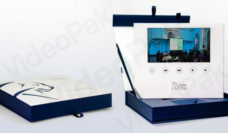 Custom Designed VideoPak Video Brochure